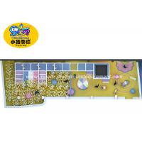 Wholesale Plastic Professional Kids Indoor Soft Play Game Playground Equipment from china suppliers