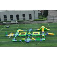 China 0.9mm PVC Tarpaulin Inflatable Amusement Park CE Certification on sale