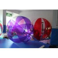 Wholesale Floating 0.8 mm PVC Kids Water Walking Ball Inflatable For Water Pool TIZIP Zipper from china suppliers