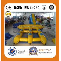 Wholesale 2015 high quality inflatable water games flyfish banana boat from china suppliers