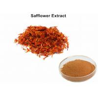 Wholesale Safflower Natural Plant Extracts 4% Powder Carthamin Preventing Atherosclerosis from china suppliers
