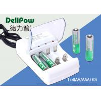 Wholesale 2 AA 1300mah Ni Mh Rechargeable Batteries , 2 AAA1000mAh Aaa Battery Charger from china suppliers