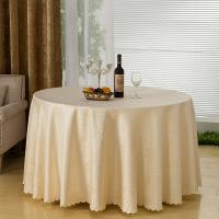 Wholesale Jacquard Pattern Wedding Linen Tablecloths / Table Sashes And Chair Covers from china suppliers