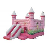Wholesale Central City Bounce House Slide Combo Pink Inflatable Amusement Park from china suppliers