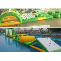 Wholesale Seaside Series Summer Fun Inflatable Aqua Park Floating Water Playground from china suppliers