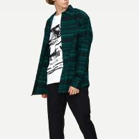 Wholesale New Collection Long Sleeve Plaid Oversozed Shirts for Men from china suppliers