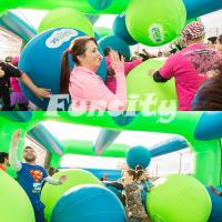 Wholesale Kids / Adults Big Inflatable Balls For Interesting 5K Sport Game 3 Years Warranty from china suppliers
