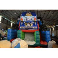 Buy cheap Durable Monster Truck Inflatable Slide / Digital Printing SUV Expedition Car Dry from wholesalers