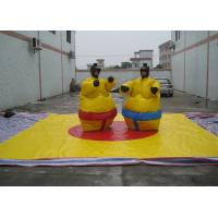Wholesale Nontoxic PVC Tarpaulin Inflatable Sumo Street Games With Helmets N Gloves from china suppliers