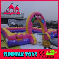 Wholesale PG-230 Inflatable Fence  Inflatable Sports Fence  Wall Fence Micky from china suppliers