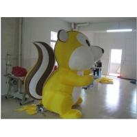Cute Custom Inflatable Products Colorful Inflatable Squirrel For Adversiting