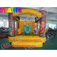 Buy cheap Mini Inflatable Bouncy Castle For Indian Theme / Jumper Castle Rental from wholesalers