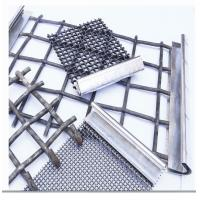 Wholesale Stainless Steel Crimped Wire Mesh Barbecue Grill / Mine Screen 1-10mm Wire Gauge from china suppliers