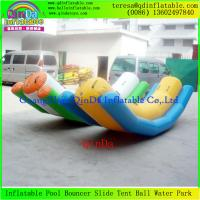 Wholesale Competive Price Giant Inflatable Water Seesaw Water Park Equipment Inflatable Seesaws from china suppliers