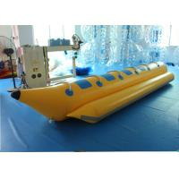 Wholesale Commercial Grade Inflatable Banana Boat , Inflatable Lake Toys For Sports from china suppliers