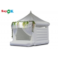 5x5x4.7mH PVC Wedding Air Jumping Inflatable Bounce