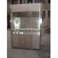 China Stainless Steel Fume  Hood  Chamber Factory Supply Stainless Steel Fume Chamber For Lab Importers on sale