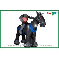 Wholesale Party Decoration Inflatable Horse / Knight Huge Inflatable Kids Toys Oxford Cloth from china suppliers