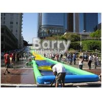 Wholesale PVC Tarpaulin Inflatable Water Slide , Custom Inflatable Slide The City from china suppliers