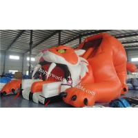 inflatable tiger slide , inflatable dry slide ,giant inflatable slide
