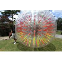 Wholesale Customized Red Inflatable Zorb Ball , Inflatable Pool Zorb Hamster Ball from china suppliers