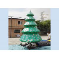 China 6m high outdoor giant advertising inflatable Christmas tree on sale for Christmas party on sale