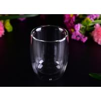 Wholesale Superior 220ml Hot Double Wall Drinking Glasses LFGB CA65 FDA Certification from china suppliers