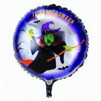 Wholesale 18-inch Halloween Foil Balloon, Made of PA and PE and AL, Customized Orders are Accepted from china suppliers