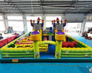 Wholesale Playground Outdoor Inflatable Amusement Park Toddler Bounce House from china suppliers
