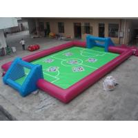 Buy cheap High cost performance inflatable soccer field for outdoor from wholesalers