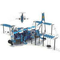 Wholesale CREEZ Custom Outdoor Playsets EN1176 Compliant Aircraft Integrated Activity Equipment from china suppliers