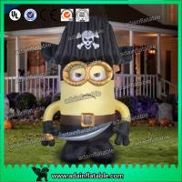 Wholesale Oxford Cloth Inflatable Cartoon Character Giant Inflatable Minions Customized Size from china suppliers