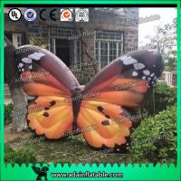 Wholesale Custom Orange  Inflatable Butterfly Model For Commerce Promotional from china suppliers