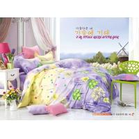 Wholesale King Size / Twin Size Four Piece Cotton Bedding Sets Reactive Printing from china suppliers