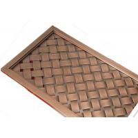 Wholesale Architecture Outside Design Concert Hall Metal Facade Fabric With Antique Copper from china suppliers