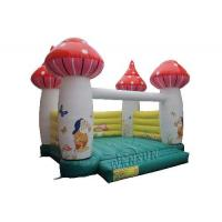 China Mushroom Style Kids Blow Up Bounce House Customized Size Accepted on sale