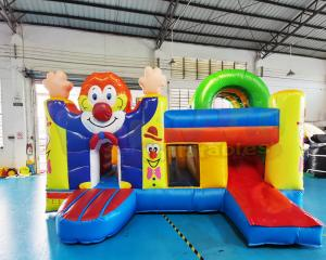 Wholesale Clown Jumping Bouncy Bouncer  Inflatable Castle Bounce House Combo from china suppliers