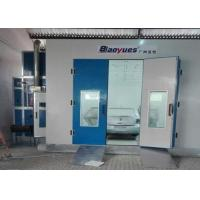 LED Lights Professional Car Spray Booth , Auto Body Paint Booth 4.5M Width