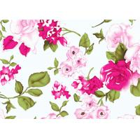 Wholesale Beautiful Floral Cotton Print Fabric By The Yard 60*60 90*88 from china suppliers