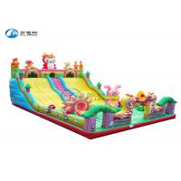 Wholesale outdoor slide equipment 16x9m Dragon Baby giant inflatable slide from china suppliers