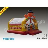 Quality Customized 0.55mm PVC Clown Open Party Inflatable Jumpers Bouncers House YHB-006 for sale