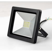 SMD 20w Driverless 240 Volt Led Flood Lights , Waterproof Black Outdoor Flood Lights