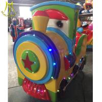 Wholesale Hansel amusement park indoor fiberglass train body coin game machine from china suppliers