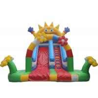 Wholesale Sun funny park customized PVC inflatable game water slide baby bouncer for kids from china suppliers