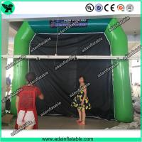 Wholesale High Quantity Green Inflatable Paint Booth, PVC tarpulin Inflatable Booth Tent from china suppliers