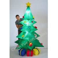 Wholesale 2015 Hot LED Inflatable Christmas Tree Decorations for Christmas Holiday from china suppliers