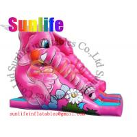 Wholesale inflatable elephant slide from china suppliers