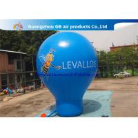 Wholesale 6m High Blue Giant Inflatable Advertising Balloon For Music Concerts from china suppliers