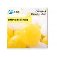 Wholesale Ocean Ball Plastic Inflatable Ball Game 5.5cm Diameter Customized Colors from china suppliers
