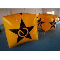 Wholesale Yellow Color Inflatable Marker Buoy PVC Tarpaulin Water Floating Cube from china suppliers